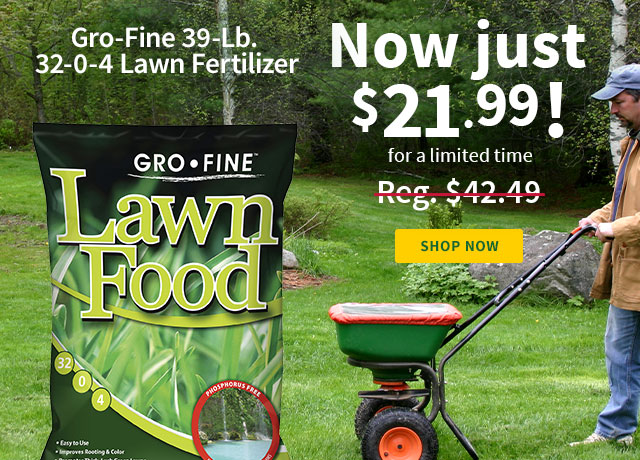Gro-Fine Lawn Fertilizer