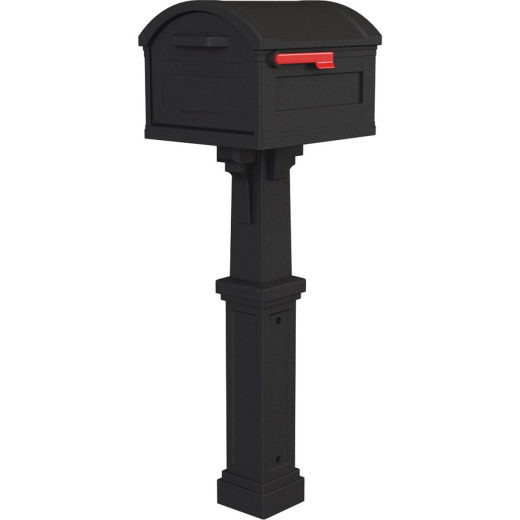 Gibraltar Grand Haven Black All In One Mailbox