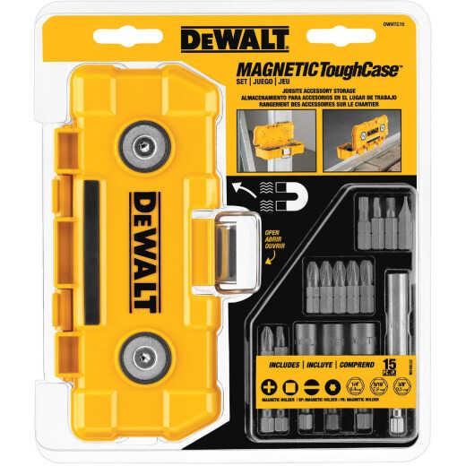 DeWalt 15-Piece Screwdriver Bit Set