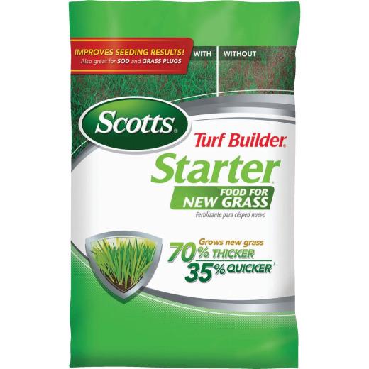Scotts Turf Builder 15 Lb. 5000 Sq. Ft. 24-25-4 Starter Fertilizer For New Lawns