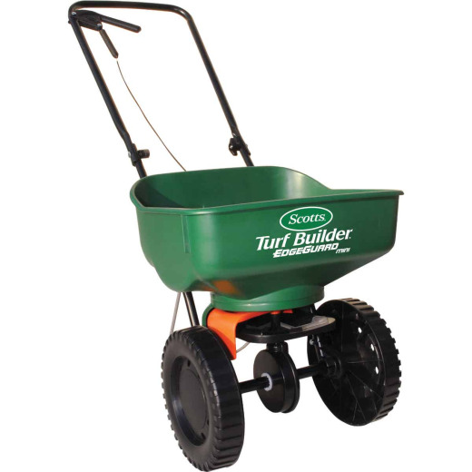 Scotts Turf Builder EdgeGuard Mini Broadcast Fertilizer Spreader