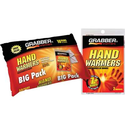 Grabber Disposable Hand Warmer (10-Pack)